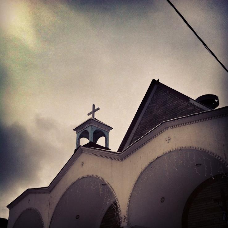 church overcast