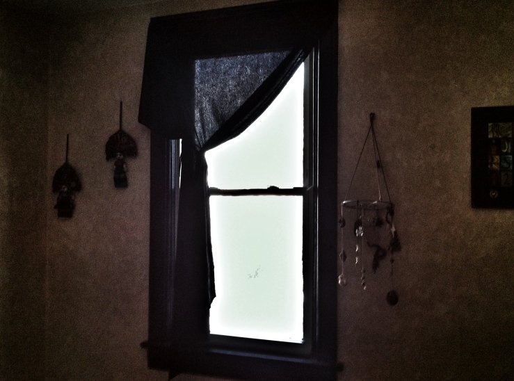 B's window