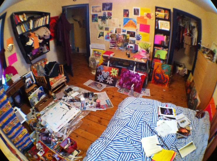 fisheye room