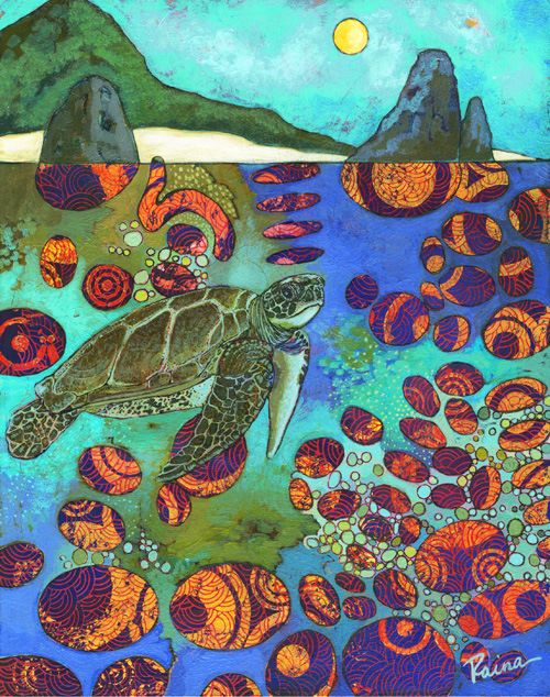 r gentry sea turtle