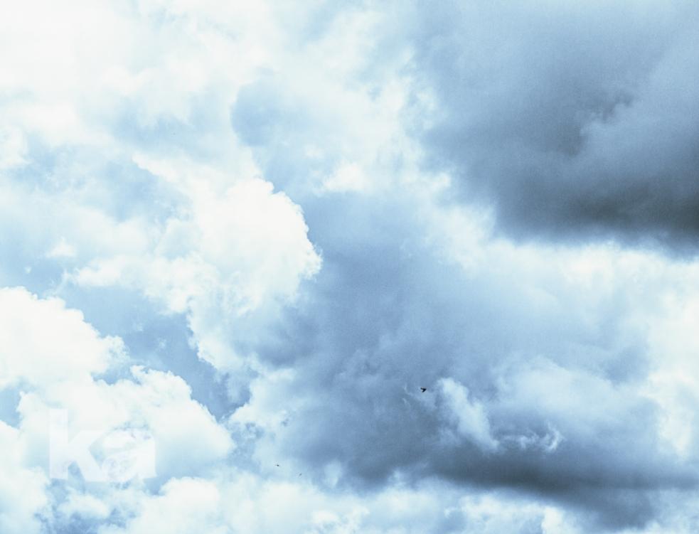 clouds tiny birds w cool ice fx