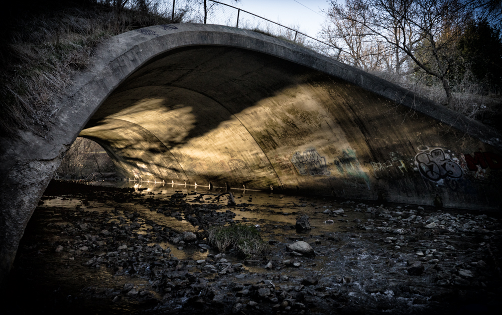 vic park bridge sunrise