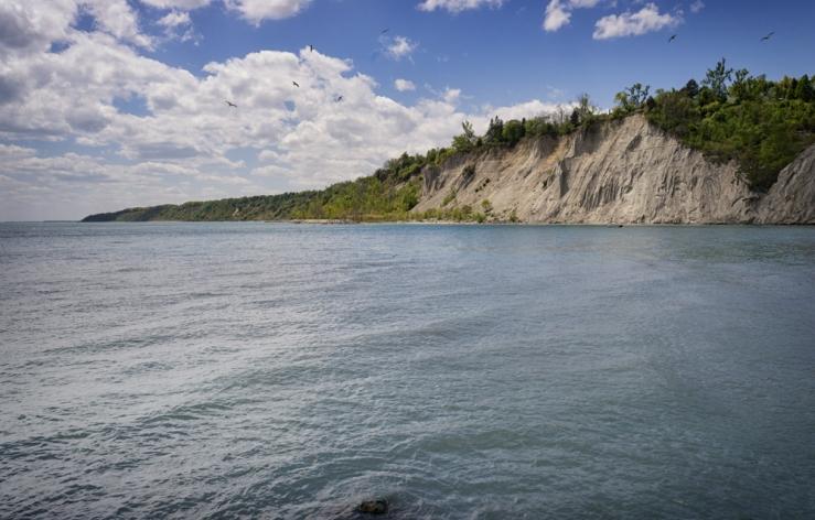 cliff lake vista