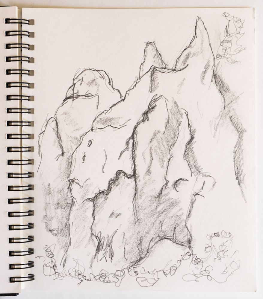 hoodoos drawing