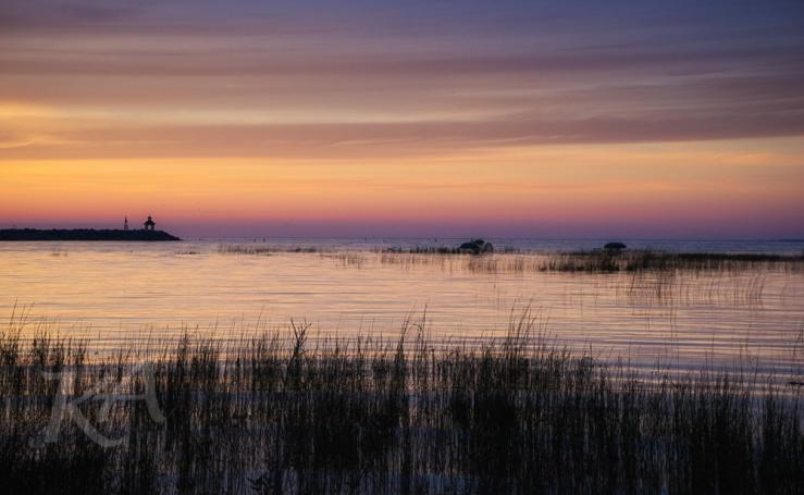 grassy sunset gb