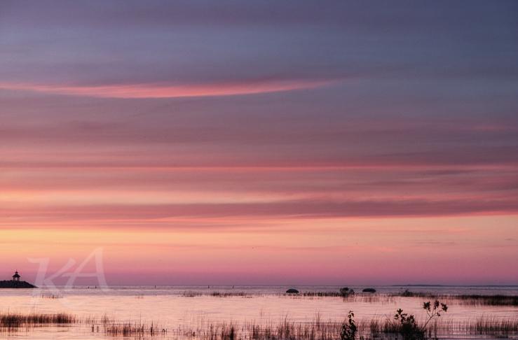 pinkish sunset gb