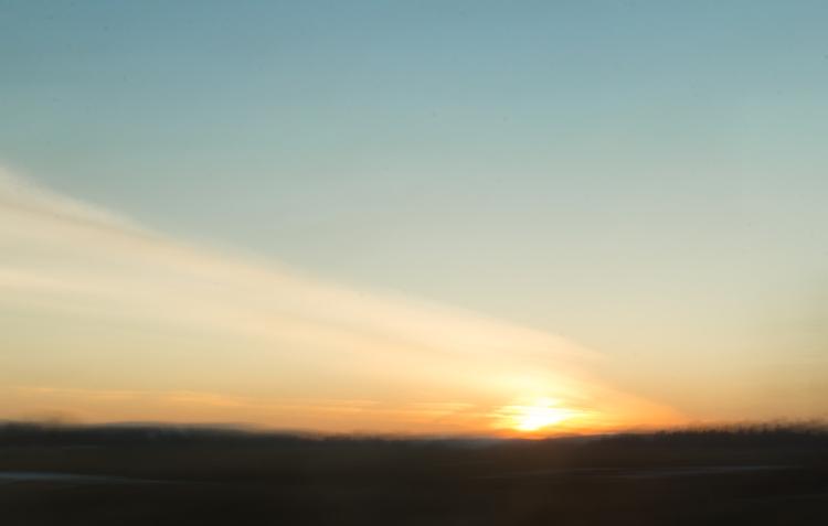 sunset streaky