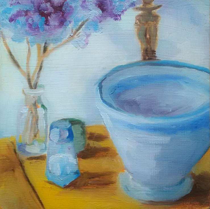 bowl and hyacinth